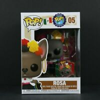 Funko Pop! Around the World Rosa #05 Mexico With Pin Soft Protector
