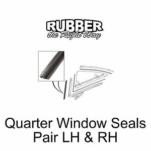 1960 1961 1962 1963 1964 Ford Galaxie / Starliner Quarter Window Seals - pair