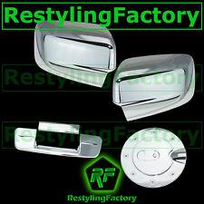 09-16 Dodge Ram Chrome Mirror No Light+Tailgate No Camera No Keyhole+Gas Cover