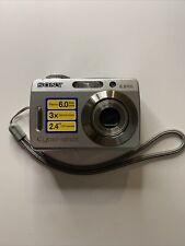 Sony Cyber-shot DSC-S500 6.0MP Digital Camera - Silver Cybershot Tested Clean