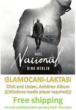 CD DINO MERLIN  HOTEL NACIONAL album 2014 Pop Bosnia Serbia Croatia Magaza