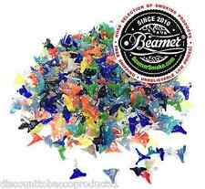 10 Beamer Glass Jackson Tobacco Smoking Pipe Filter Screens Flower Steel, Brass