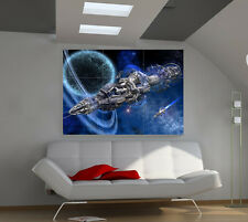Strangers Space Ship large giant 3d poster print photo mural wall art ia154