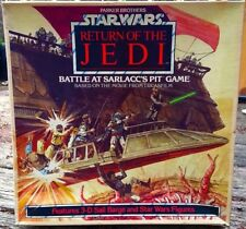 Star Wars Return of the Jedi Battle at Sarlaccs Pit Board Game SEALED