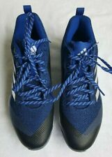 Adidas PowerAlley 5 Size 10 Baseball Cleats Low B39184 Blue Royal Power Alley