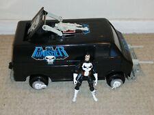 Punisher Van Coche Retro Juguete Marvel 1991 Toy Biz Toybiz Inc. Coleccionable Vintage