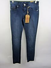 Red Camel Skinny Jeans  Low Rise Embellished Size 3 Short NWT