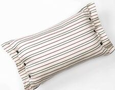 "CHAPS Home PRESTON PAISLEY Pillow Size: 12 x 18"" NEW Pinstripe FREE SHIPPING"