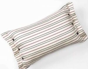 "CHAPS Home PILLOW Size: 12 x 18"" New SHIP FREE Pinstripe PRESTON PAISLEY Bedding"