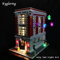 Kyglaring LED Light for LEGO 75827 Street Ghostbusters Firehouse Headquarters
