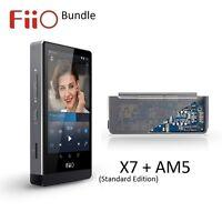 FiiO X7 Standard Edition Lossless (FLAC/MP3) DAP/DAC+AM5 Power Amp Module BUNDLE