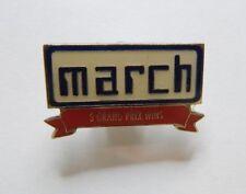 March Racing Formula 1 Team Pin Badge 3 Grand Prix wins
