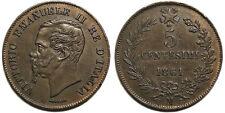 5 centesimi 1861 M BB-SPL