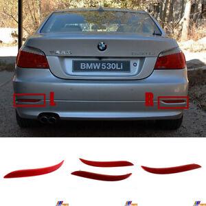 Fit 07-10 BMW5 E60 LCI Base Sedan 520i 528xi 530i 535i 540i 550i REAR Reflector