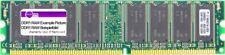 1GB Samsung DDR1 RAM PC3200U-30331-E0 400MHz CL3 184-pin DIMM M368L2923DUN-CCC