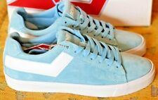 PONY Women's TOP STAR LO CORE SUEDE Angel Blue and White Pony Shoes for Women
