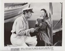 "Scene from ""Fair Wind to Java"" 1953 Vintage Movie Still"