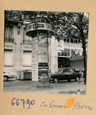 PARIS 1960 - 3 Photos Colonnes Morris Publicité - PL 1010