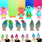Elf/Pixie Colour Troll Wig Gnome Clown Doll Costume Team Fun Adult & Kids Size