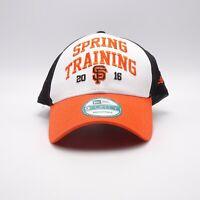 San Francisco Giants Spring Training 2016 cap Adjustable backstrap hat New Era