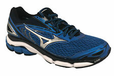 Mizuno Men's Wave Inspire 13 Running Shoes Blue Gray Black Size 7