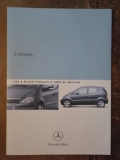 MERCEDES BENZ CLASSE PICCADILLY SPECIAL EDITION ORIG 2004 UK inchiostri SALES BROCHURE