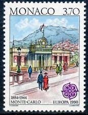 TIMBRE DE MONACO N° 1725  ** BATIMENTS POSTAUX D'HIER / ANCIENNE POSTE