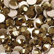 20 STRASS Cristal SWAROVSKI Dorado Bijou ongle 1,8 mm Nail Art