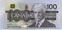 1988 Bank of Canada $100 Thiessen Crow Choice UNC BJE Prefix BN85