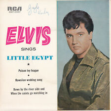 ELVIS PRESLEY Sings Little Egypt EP