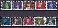 Liechtenstein 1948 postfrisch MiNr. 257-266  Flugpioniere