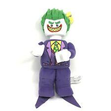 "NEW Lego Joker Minifigure Plush 12"" Stuffed Batman Villain Toy LEGOLAND NWT"