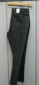 "Ladies DKNY Jeans Grey Diamond Stretch Leggings / Trousers XL 38"" Waist BNWTs"