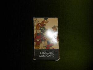 TAROCCHI CARTE CARTOMANZIA: ORACOLO MESSICANO - LO SCARABEO- 32 CARTE