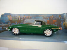 Dinky DY-1 Jaguar E Type - Green Soft Top Roadster - Mint Condition