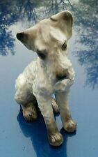 RARE Edelstein Bavaria Kunst-Abteilung Kunstabteilung Schnauzer Dog Figurine