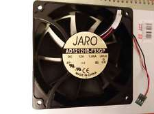 JARO AD1212HB-F93GP 12038 Case Fan 12V DC 200CFM PC CPU Cooling 3pin #M2374 QL