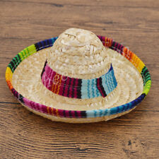 Multicolor Pet Sombrero Hat Dog Cat Hat Small Pet Dog Outdoor Costume Supplies