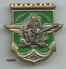 Insigne génie , SADAA. /  17  Rgt. du Génie Parachutiste  - 86/97 -