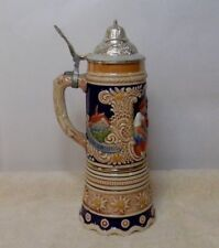 VINTAGE DBGM LIDDED MUSICAL BEER STEIN - LARA'S THEME FROM DR. ZIHIVAGO - 472