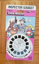 Inspector Gadget Cartoon Tv Show view-master Reels Pack opened