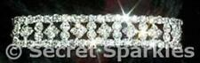 Unbranded Diamond Rhinestone Costume Bracelets