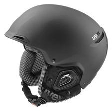 Uvex Jakk+ Snowsport Helmet - Mat Black 52-55cm