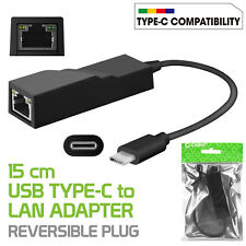 Cellet Type-C (USB-C) to RJ45 Gigabit Ethernet LAN Network Adapter