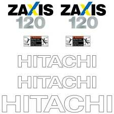 Hitachi ZX120-3 Decals Stickers Repro Decal Kit Hitachi Zaxis 120-3