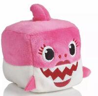 WowWee Pingfong Baby Shark Official Song Cube - Pink Mommy Shark Stuffed Plush