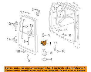 GM OEM Lock-BACK DOOR-Control Assembly 20920593