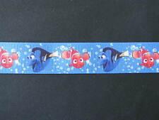 """finding nemo dory grosgrain ribbon 7/8"""" per 1 m hair scrapbooking card making"""