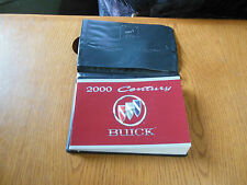 Used, VG Condition Owners Manual & Case For The 2000 Buick Centruy