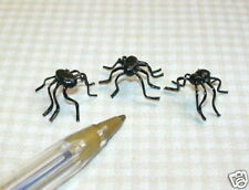 Miniature Giant Scary Spiders for Halloween: DOLLHOUSE Miniatures 1:12 Scale